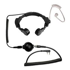 Code Red - Microphone -Assault throat mic/earpiece