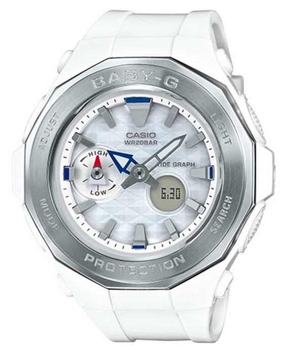 Casio Baby-G BGA225-7A Beach Glamping Series White