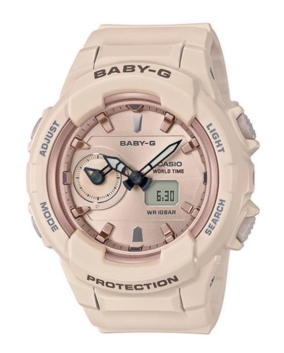 Casio Baby-G BGA230SA-4A Dual Time Pink Analog Dig