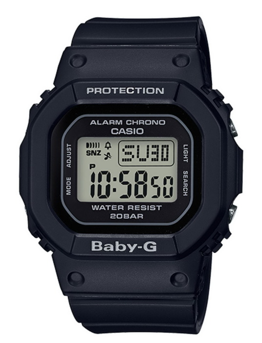 Casio Baby-G BGD560-1 Black Digital Watch