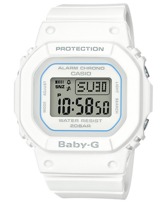 Casio Baby-G BGD560-7 White Digital Watch
