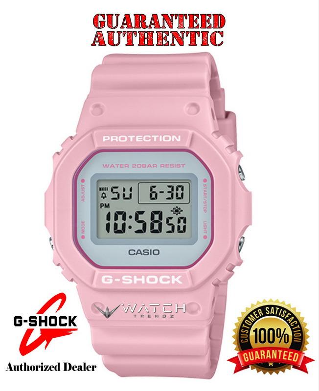 Casio G-Shock DW5600SC-4 Pastel Color Series Pink