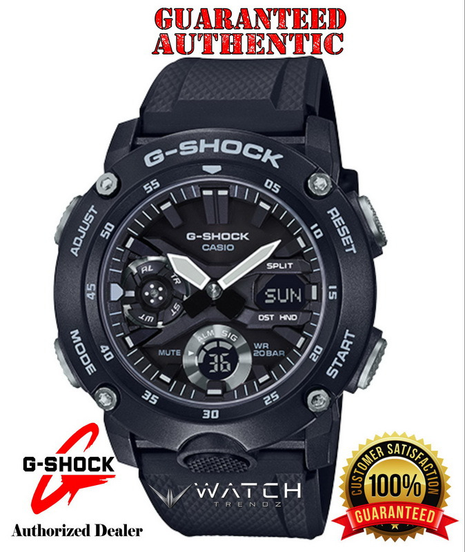 Casio G-Shock GA2000S-1A Carbon Core Guard Analog