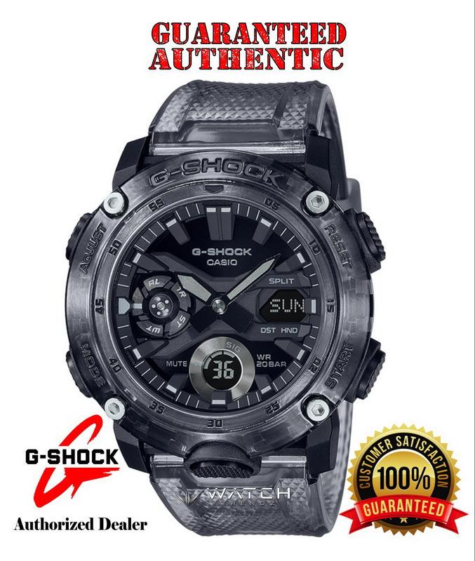 Casio G-Shock GA2000SKE-8A Transparent Grey Analog