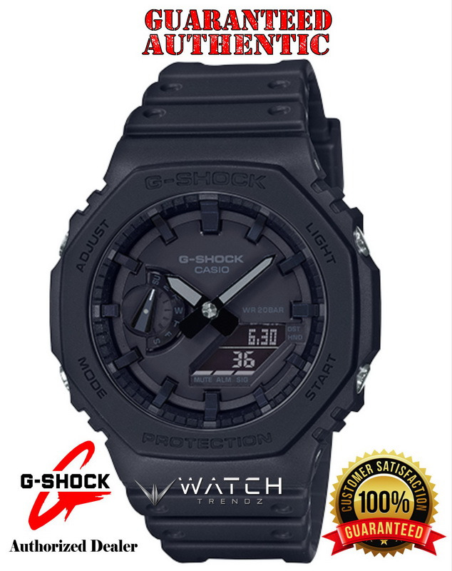 Casio G-Shock GA2100-1A1 Analog Digital Black Watc
