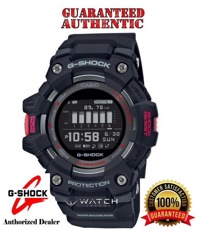 Casio G-Shock GBD100-1 G-SQUAD Bluetooth Mobile Li