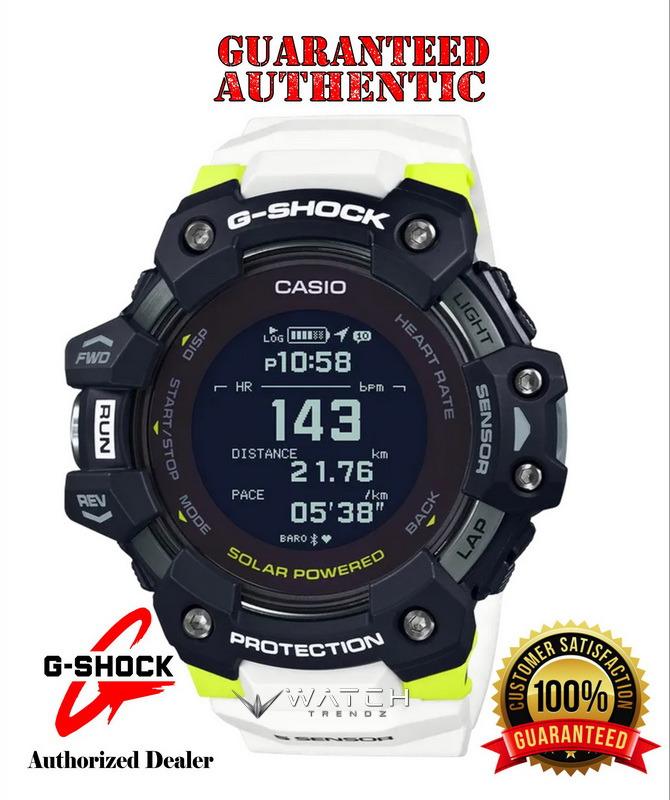 Casio G-Shock GBDH1000-1A7 GPS Heart Rate Monitor