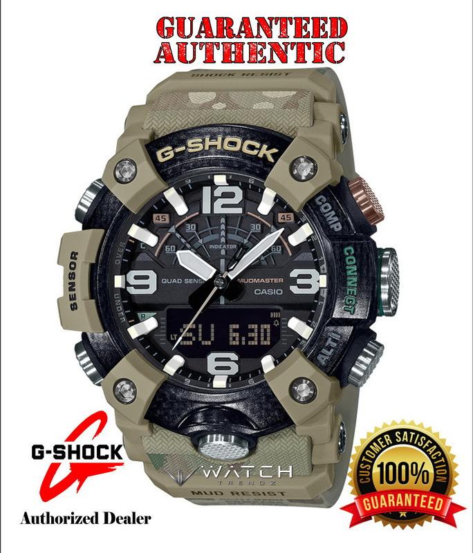 Casio G-Shock GGB100BA-1A MUDMASTER Special Editio