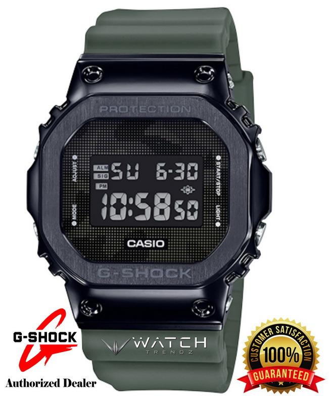 Casio G-Shock GM5600B-3 Black Stainless Steel Beze