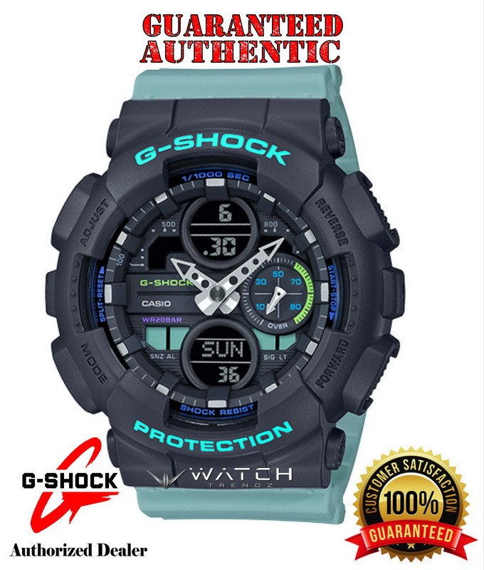 Casio G-Shock GMAS140-2A S-Series Analog Digital B