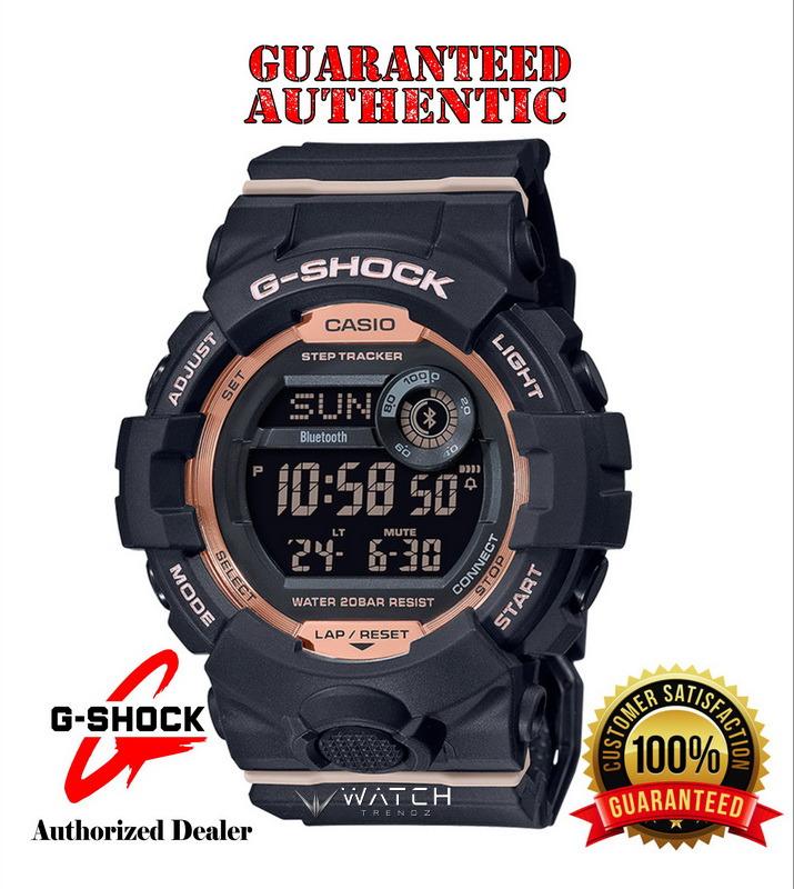Casio G-Shock GMDB800-1 Bluetooth Connected Steptr