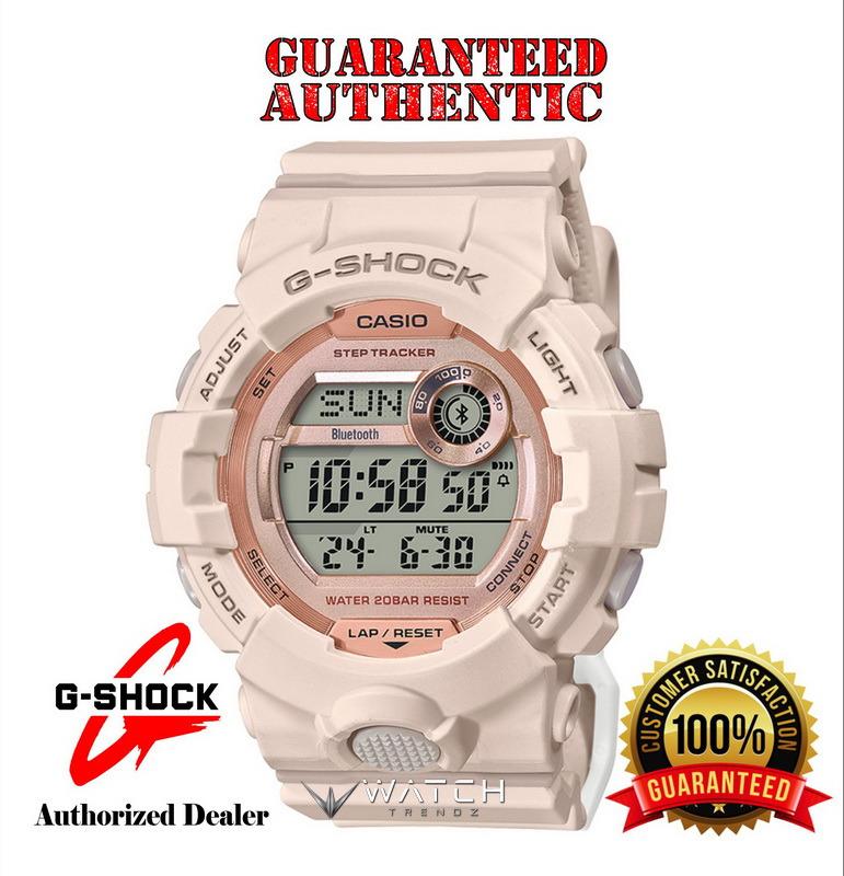 Casio G-Shock GMDB800-4 Bluetooth Connected Steptr
