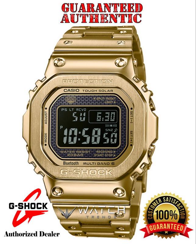 Casio G-Shock GMWB5000GD-9 Multi-Band 6 Atomic Tim