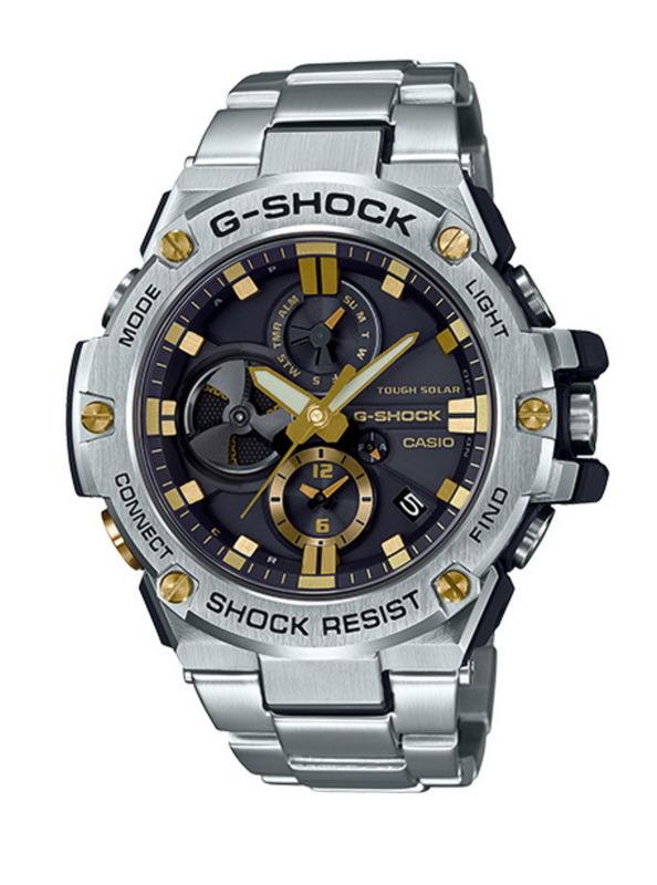 Casio G-Shock GSTB100D-1A9 G-Steel Bluetooth Conne