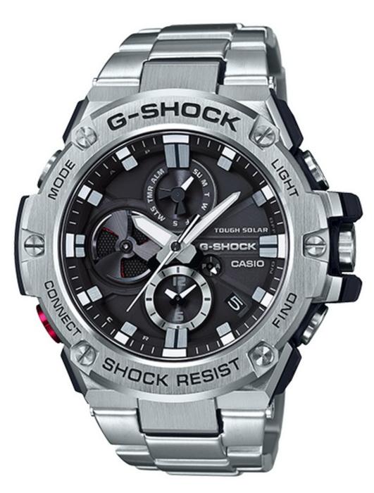 Casio G-Shock GSTB100D-1A G-STEEL Tough Solar  Blu