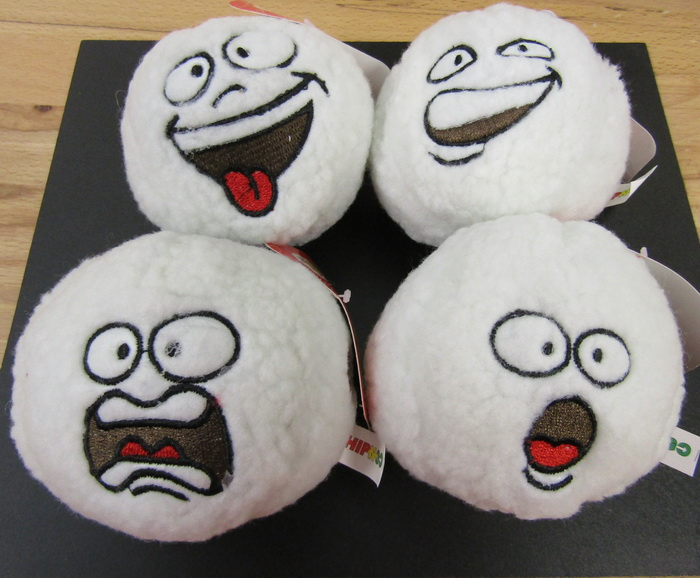 4 Snowballs with Attitude and Sound