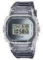 Casio G-Shock DW5600SK-1 Skeleton Clear Gray Semi-