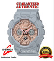 Casio G-Shock GMAS120MF-8A Rose Gold Dial Grey Ana