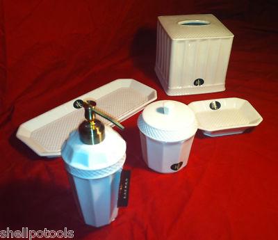 Shellpotools Ralph Lauren 6 Piece Ceramic Bathroom