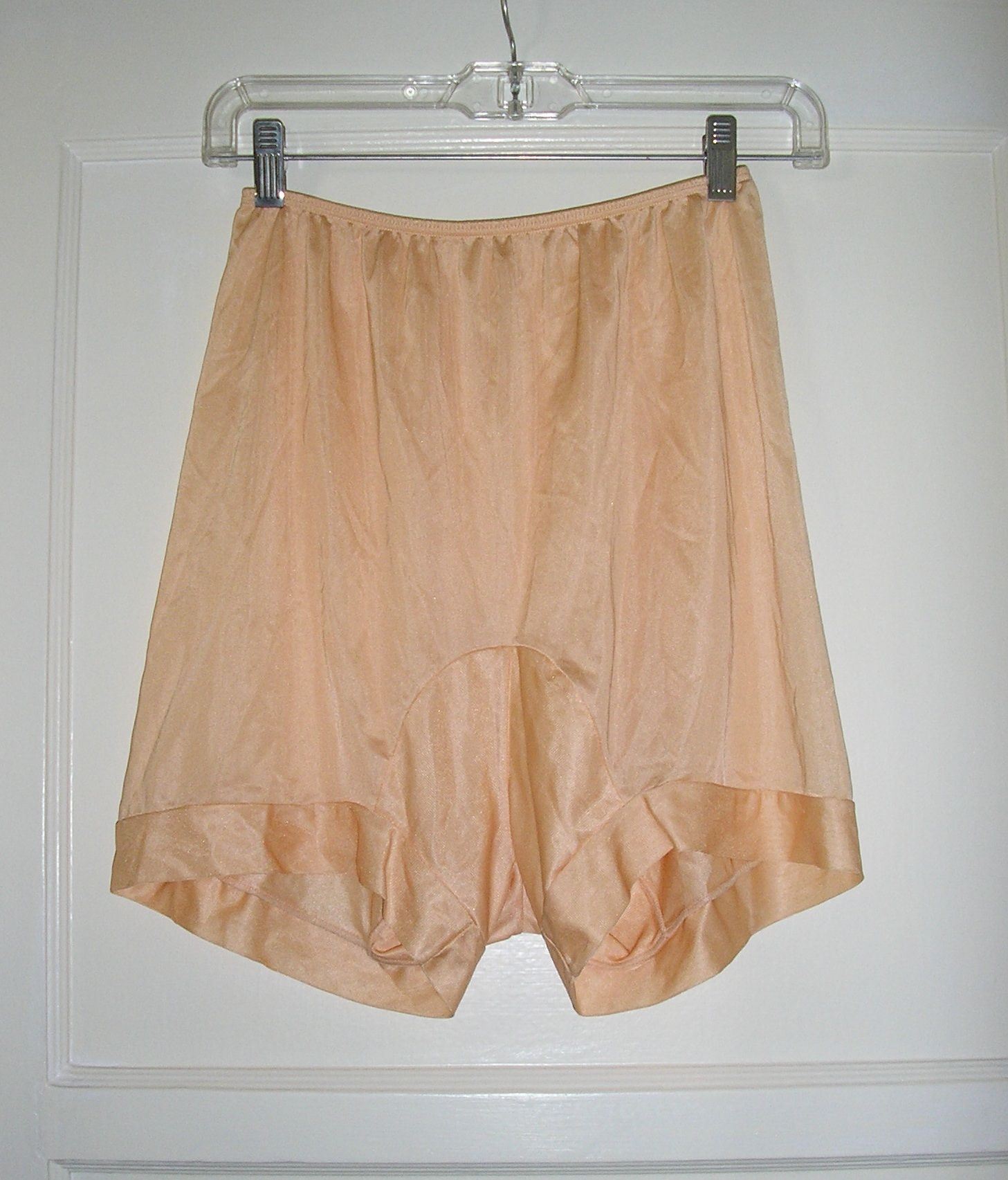 1940s peach panty pettipants sz small medium
