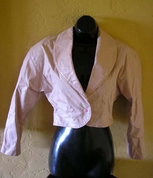 1980s never worn with tags vintage deadstock pink