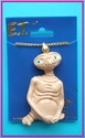 1980s gold & plastic E.T. movie necklace
