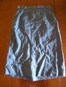 1950s teal blue wiggle suit sz xs xxs