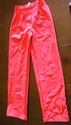 1970s orange polyester pam grier pants suit sz sma