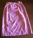 1970s mauve tweed swiss embroidery suit + belt sz