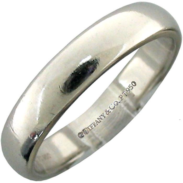 Tiffany Amp Co Mens Platinum Wedding Band Size 975