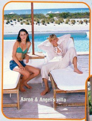 Love Health Aaron Carter Shirtless Barefoot Angel