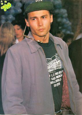 Love Health Johnny Depp Teen Boy Actor Pinup Poster