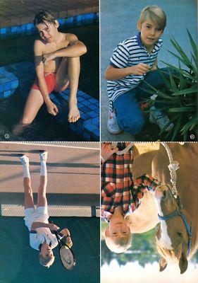 Love Health Ricky Schroder Shirtless Barefoot Teen Boy Actor 1984