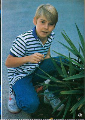 Love Health Ricky Schroder Shirtless Barefoot Teen Boy