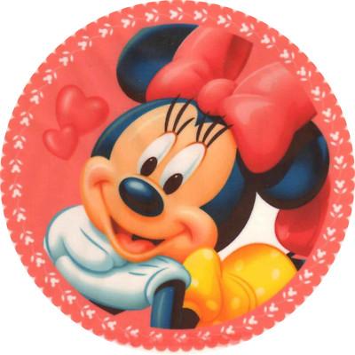 Customedibles Mini Mouse Disney Edible Image Cake Topper