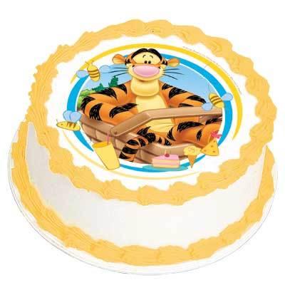Tigger Cake Topper Decoration