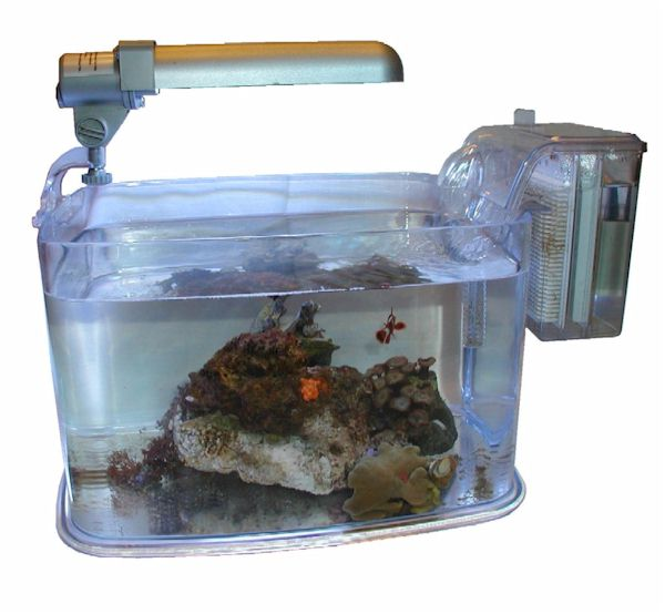 Fish Aquarium 2 Gallon Hawkeye 2 Gallon 360 Starter