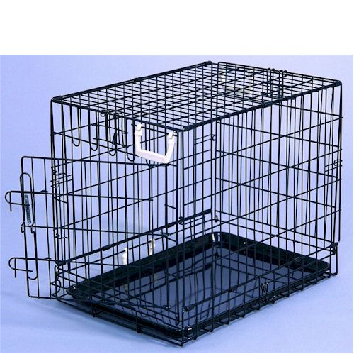 General cage extra large fold down dog pet crate ebay for Large dog cages for sale cheap