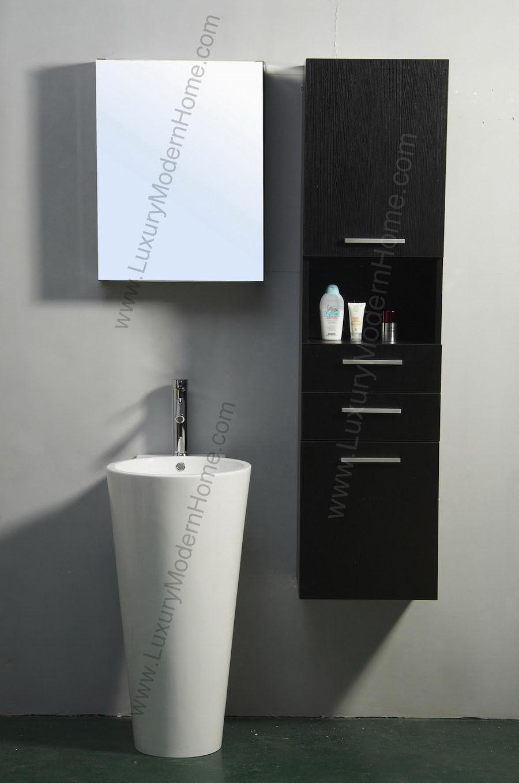 PICKUP IN LOS ANGELES Modern Bathroom Pedestal Sink Round Luxury - Modern bathroom los angeles