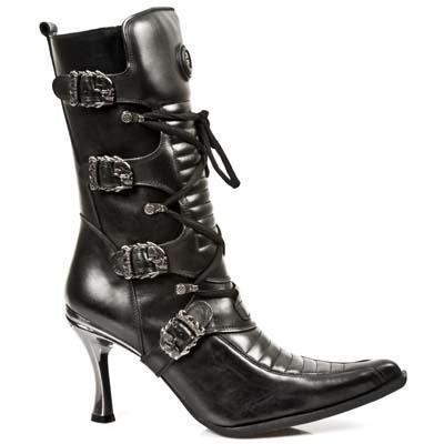 Original Women Ladies New Rock Long Boots MTR004S1