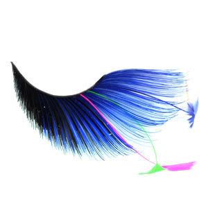 5307cd7a213 extraordinarybydesign : Stargazer False Eyelashes Blue/Black Plume ...