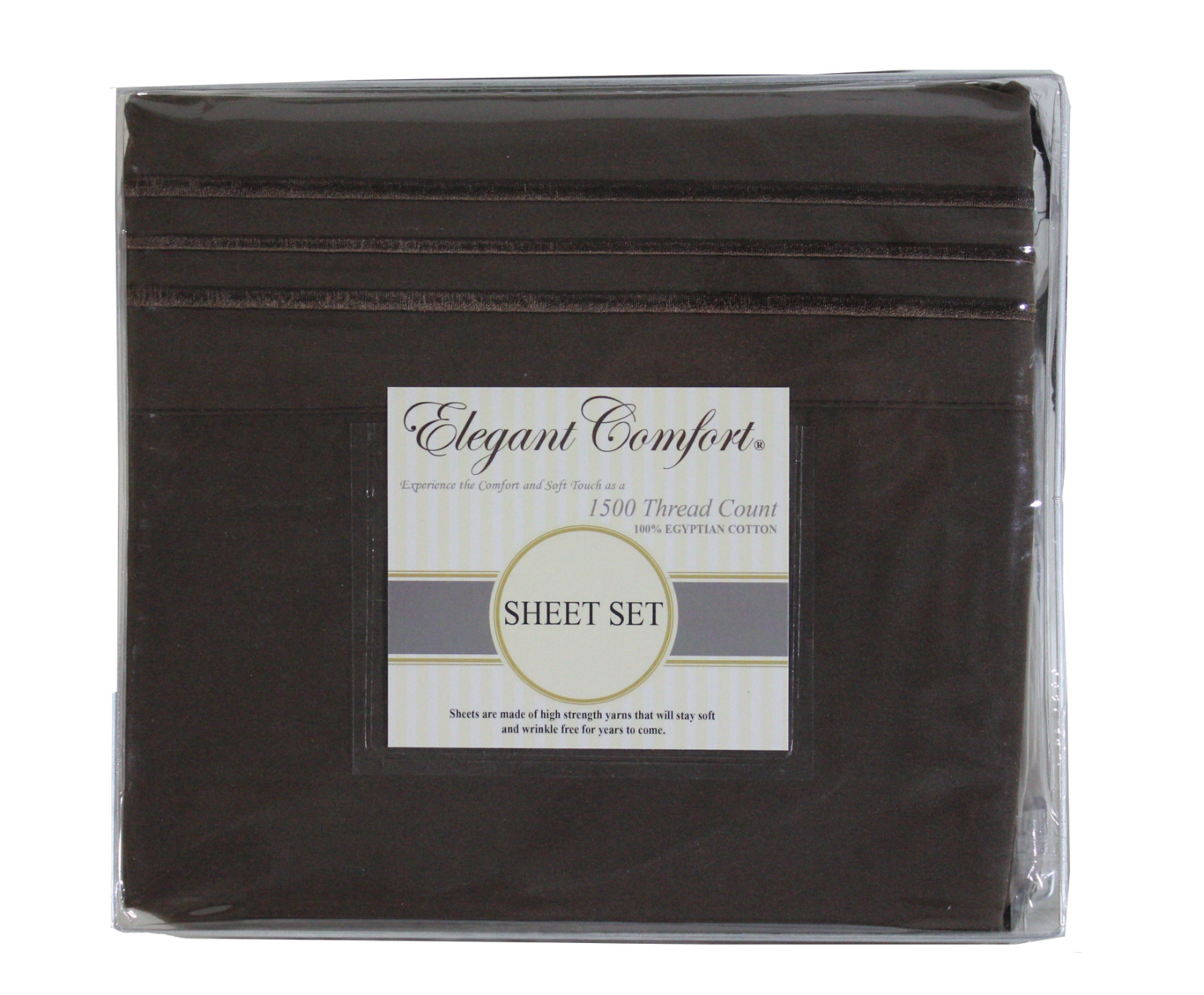 JS Sanders 1500 Series Sheet Set, King Size, Choco