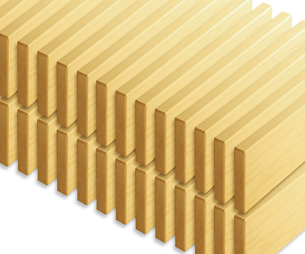 Unit blocks cp120 32 double unit roof planks wooden for Plank blocks
