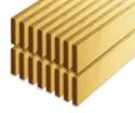 Photo of CP119 16 Quadruple Unit Floor Planks Wooden Unit Blocks in Hard Rock Maple