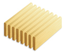 Photo of CP420 8 Double Unit Roof Planks Wooden Unit Blocks in Hard Rock Maple
