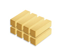 Photo of CP808 8 Unit Pillars Standard Unit Wooden Blocks in Hard Rock Maple