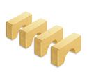 Photo of CP810 4 Unit Arches Standard Unit Wooden Blocks in Hard Rock Maple