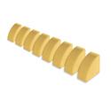Photo of CP816 8 Quarter Circles Standard Unit Wooden Blocks in Hard Rock Maple