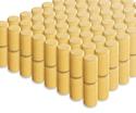 Photo of CP122 128 Half Cylinders Standard Unit Wooden Blocks in Hard Rock Maple