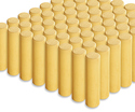 Photo of CP112 64 Small Cylinders Standard Unit Wooden Blocks in Hard Rock Maple